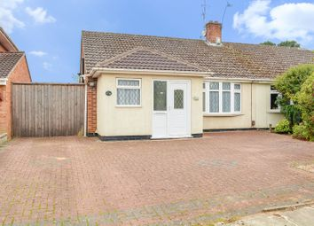 Thumbnail 2 bed semi-detached bungalow for sale in Asquith Boulevard, West Knighton, Leicester