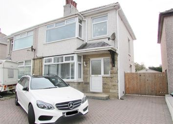 Thumbnail 3 bed property for sale in Tranmere Crescent, Morecambe
