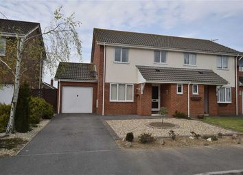 Thumbnail 3 bed semi-detached house to rent in Mallow Close, Highcliffe, Christchurch