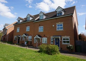 Thumbnail 3 bed town house for sale in Henbury Drive, Chelmsley Wood, Birmingham