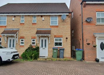 Thumbnail 2 bed semi-detached house to rent in Great Meadow, Tipton, West Midlands