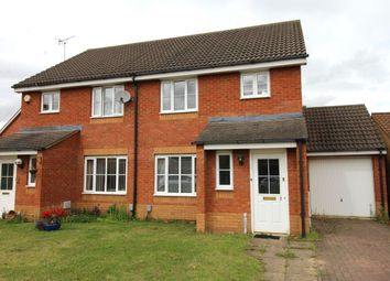 Thumbnail 3 bed semi-detached house to rent in Carroll Drive, Elstow, Bedford