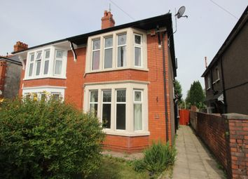 Thumbnail 3 bed property to rent in Heath Park Road, Heath, Cardiff