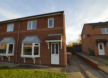 Thumbnail 3 bed semi-detached house to rent in Pickering Avenue, Hornsea, East Yorkshire