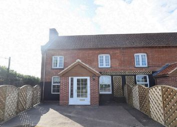 Thumbnail 2 bed end terrace house for sale in Bury Road, Hepworth, Diss