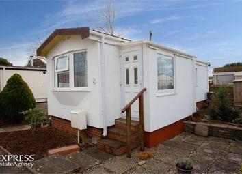 Thumbnail 2 bedroom mobile/park home for sale in First Avenue, Newport Park, Exeter, Devon