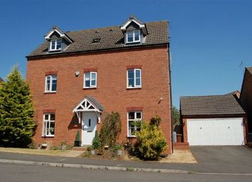 Thumbnail 5 bed detached house for sale in South Meadow View, St Crispins, Northampton