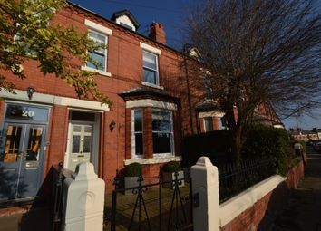 Thumbnail 4 bed terraced house to rent in Granville Road, Chester