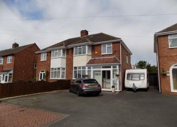 Thumbnail 4 bed semi-detached house for sale in Springfield Crescent, Sutton Coldfield, West Midlands