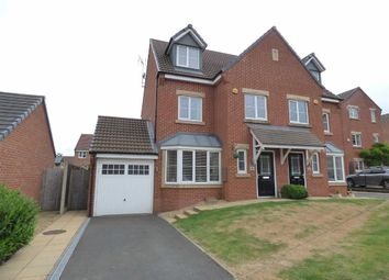 Thumbnail 4 bed semi-detached house for sale in Woodbine Close, Cannock, Staffordshire