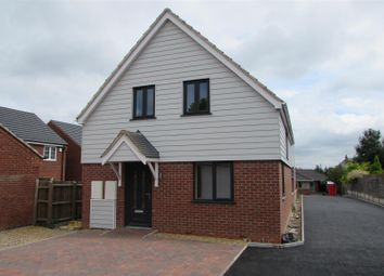 Thumbnail 3 bedroom detached house for sale in Fosse Close, Enderby, Leicester