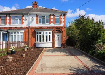 Thumbnail 3 bed semi-detached house for sale in West Street, Winterton, Scunthorpe