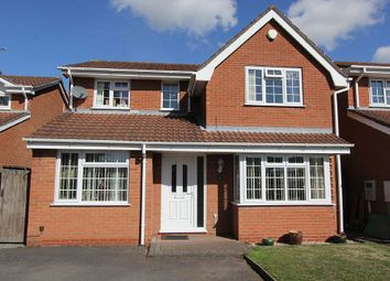 Thumbnail 4 bed detached house for sale in Martins Drive, Atherstone, Warwickshire