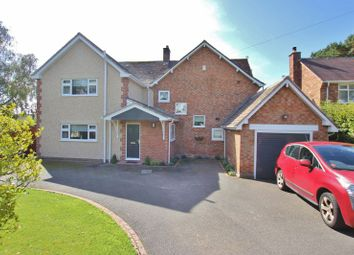 Thumbnail 4 bed detached house for sale in Farr Hall Road, Lower Heswall, Wirral