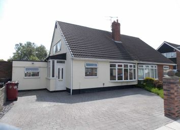 Thumbnail 4 bed bungalow for sale in Pitsmead Road, Kirkby, Liverpool