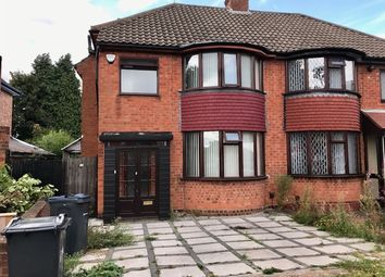 Thumbnail 3 bed semi-detached house to rent in Hodge Hill Road, Hodge Hill, Birmingham