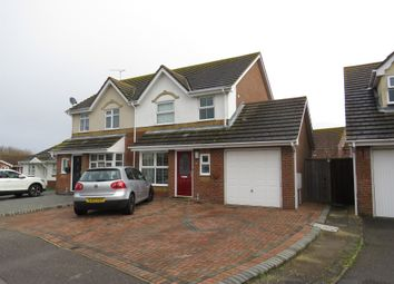 Thumbnail 3 bed semi-detached house for sale in Swallow Close, Dovercourt, Harwich
