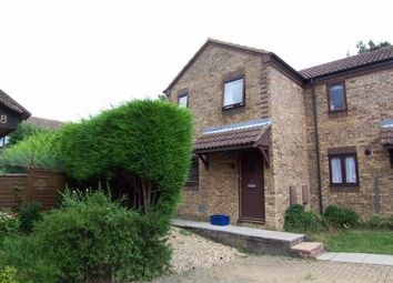 Thumbnail 2 bedroom semi-detached house to rent in Burghley Court, Great Holm, Milton Keynes