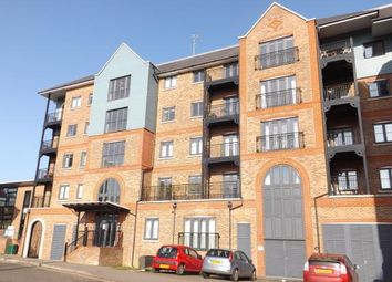 Thumbnail 2 bed flat for sale in Waterway House, Medway Wharf Road, Tonbridge, Kent