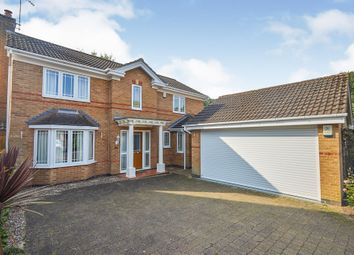 Thumbnail 4 bed detached house for sale in Cascade Grove, Littleover, Derby
