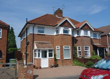 Thumbnail 3 bed semi-detached house for sale in Southmead Road, Aldershot
