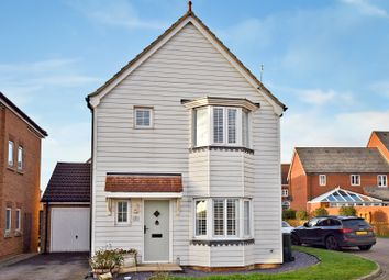 Thumbnail 3 bed detached house for sale in Hedgers Way, Kingsnorth, Ashford