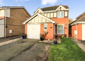Thumbnail 3 bed detached house for sale in Greenfield Road, Measham