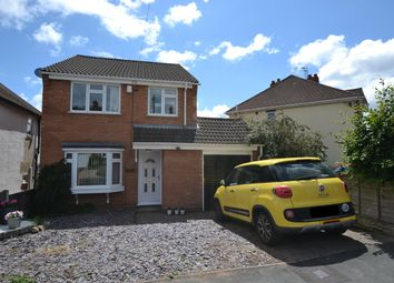 Thumbnail 3 bed detached house for sale in Wentworth Road, Wollaston
