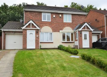 Thumbnail 2 bed semi-detached house to rent in Yardley Close, Hall Farm, Sunderland