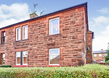 Thumbnail 1 bed flat for sale in Crathie Avenue, Dumfries, Dumfries And Galloway