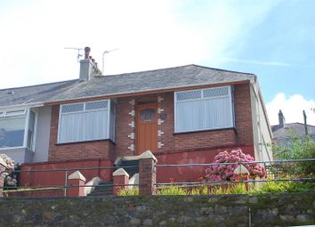 Thumbnail 2 bedroom semi-detached bungalow for sale in Coleridge Road, Plymouth