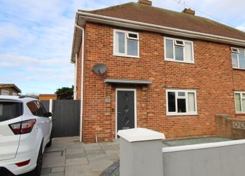 Thumbnail 3 bed semi-detached house for sale in Eudo Road, Skegness