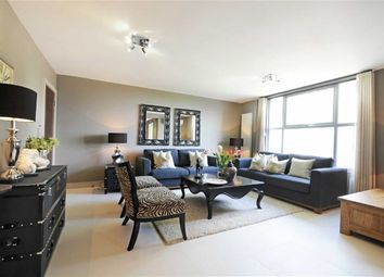 Thumbnail 3 bed block of flats to rent in St Johns Wood Park, London