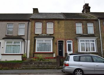 Thumbnail 2 bed terraced house for sale in Manor Road, Swanscombe