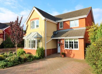 Thumbnail 4 bed detached house for sale in Yeats Way, Dereham