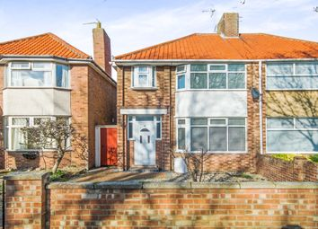 Thumbnail 3 bedroom semi-detached house for sale in Dell Road, Lowestoft