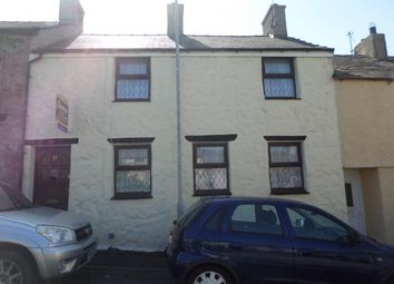 Thumbnail 3 bed terraced house for sale in 27, Snowdon Street, Caernarfon