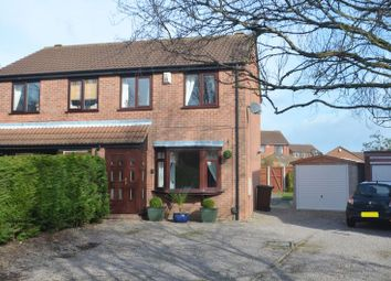 Thumbnail 3 bed semi-detached house to rent in Stenigot Close, Lincoln