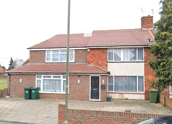 Thumbnail 5 bed semi-detached house to rent in St Anne's Avenue, Stanwell, Staines