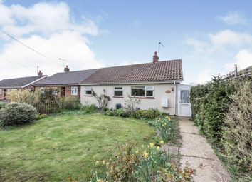 Thumbnail 2 bed semi-detached bungalow for sale in All Saints, Weeting, Brandon