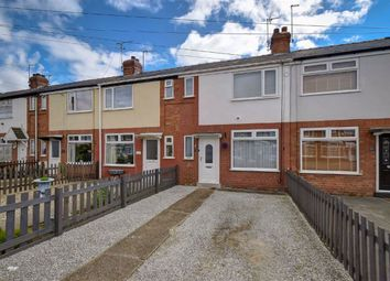Thumbnail 2 bed terraced house for sale in Meadowbank Road, Hull