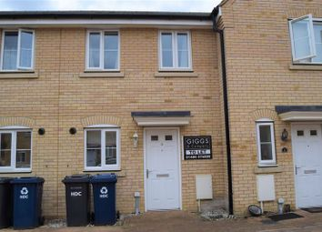 Thumbnail 2 bedroom terraced house to rent in Furrowfields, St. Neots