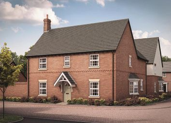 Thumbnail 4 bed detached house for sale in Heather Lane, Ravenstone, Coalville