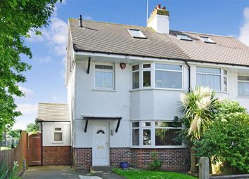 Thumbnail 4 bed semi-detached house for sale in Manor Hall Road, Southwick, West Sussex