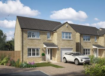 Thumbnail 4 bedroom detached house for sale in Great North Road, Micklefield, West Yorkshire