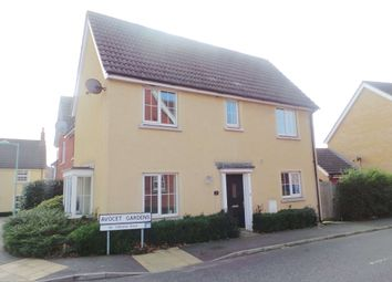 Thumbnail 3 bed terraced house to rent in Cormorant Drive, Stowmarket, Suffolk