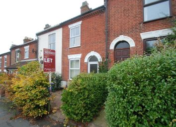 Thumbnail 2 bedroom terraced house to rent in Quebec Road, Norwich
