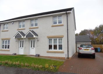 Thumbnail 3 bed semi-detached house for sale in Grayling Road, Fullwood Gardens, New Stevenson, Motherwell