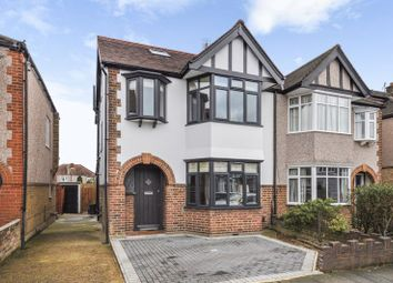 Thumbnail 4 bed semi-detached house for sale in Kendrey Gardens, Twickenham