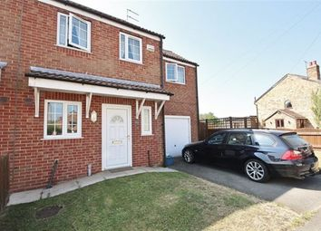 Thumbnail 3 bed semi-detached house to rent in Main Road, Drax, Selby